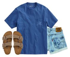 """""""cute boys that you'll never see again :,("""" by conleighh ❤ liked on Polyvore featuring Birkenstock and Lord & Taylor"""