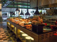 breakfast buffet in Bazaar Restaurant
