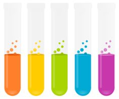 Science party - test tube clip art