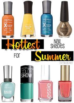 Hottest Nail Shades