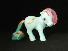 My Little Pony Vintage G1 Sunlight (Rainbow Earth Ponies) [38a] #Hasbro