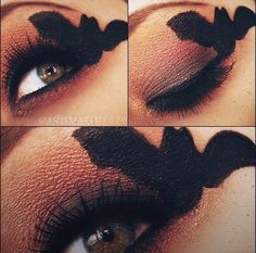 Halloween eye makeup . #costumes #makeup #costume #ideas #paulmitchell #pmtsnashville
