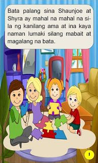 Teacher Fun Files: Maikling Kwento: Ang Magkapatid 1st Grade Math Worksheets, Short Stories For Kids, Visual Aids, Kids Story Books, Tagalog, Myla, Reading Passages, Picture Cards, Kindergarten Teachers