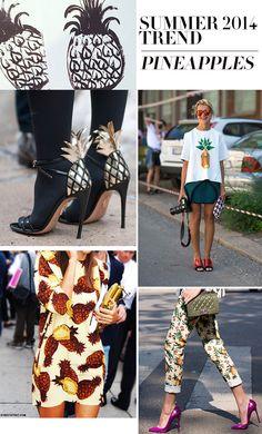 MadeByGirl: Pineapples: Summer Trend