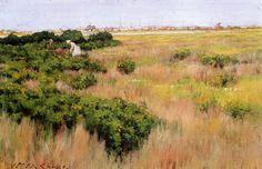 Пейзаж рядом с Кони-Айлендом. Уильям Мерритт Чейз