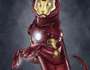 'Catvengers' Turns Kitties Into Purr-fect Superheroes. @Casandra Adams I am picturing your Tony Stark when I see this.