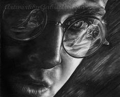Harry Potter fan art drawing