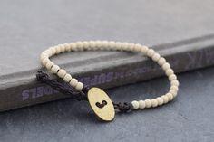 Stone Bracelets White Turquoise Mala Yoga Basic Bracelet