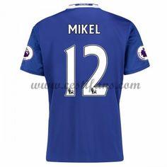 Chelsea Fotbalové Dresy 2016-17 Mikel 12 Domáci Dres