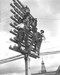 Telephone Workers in Chillicothe, Ohio, 1939