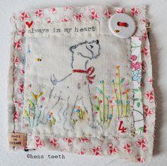 always in my heart :: brooch | Flickr - Photo Sharing!