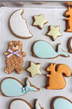 Awesome baby shower cookies!