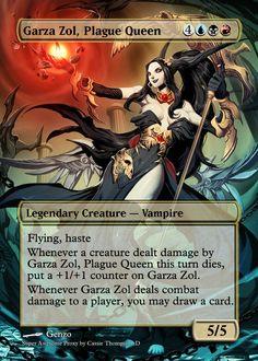 Garza Zol, Plague Queen by Itsfish3 on DeviantArt