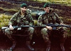 Royal Marines | After a bloody battle a Royal Marine found an enemy camera. Thirty ...