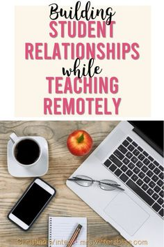 Remote teaching doesn't mean the end of positive teacher student relationships! In this post are ideas, activities and tips for teachers looking to continue building relationships with elementary students while out of school due to school closures, snow days, floods, or hurricanes. #remoteteaching #distancelearningideas #kidslearningathome