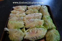 Cabbage rolls! Low carb, high protein!