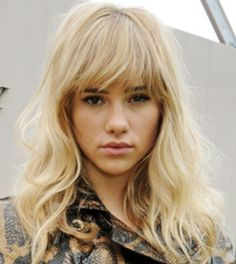 Suki Waterhouse is another source of hair inspiration for Yahoo Lifestyle blogger Millie Mackintosh.