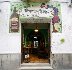 Top 10 bars not to miss in Jerez and Cadiz's sherry country - El Pasaje in Jerez really good looking selection