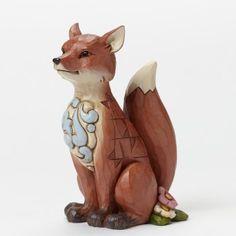 Smart As A Fox-Woodland Fox Figurine