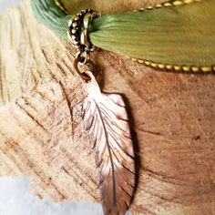 I've been making copper & sterling silver feathers