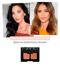 O blush perfeito para cada tom de pele. ProdutividadeMaquiagemDicasBeleza ProdutosMaquiagem ... 1dcf79f7509e