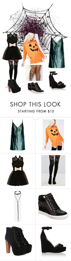 """Sem título #26"" by tata-do-vale on Polyvore featuring moda, Leka, Leg Avenue, ASOS, Topshop, ALDO, Jeffrey Campbell e Paul Andrew"