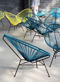 Acapulco Chair Multicolor Now Featured On Fabwant Furniture
