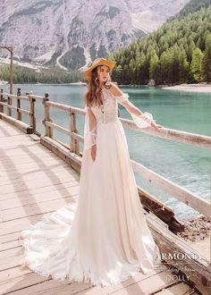 8ce70680198 Свадебные платья с рукавами  лучшие изображения (8) в 2019 г ...
