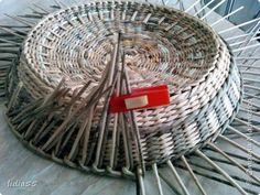 Изделия для питомцев Мастер-класс Плетение котошар и мк по подставке Трубочки бумажные фото 20