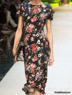 Dolce & Gabbana dress shape
