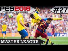 PES 2016 Master League #27 Las Palmas