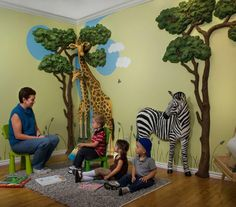 Safari 3D Wall Décor by Beetling Design So expensive, but I soooo love this for a safari themed baby room
