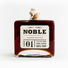 Bourbon Barrel Maple Syrup by Noble Handcrafted