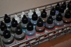 Alcohol ink storage and reinkers