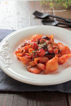 茄子とベーコンのアラビアータ by にがはっぱ 平沢あや子 | レシピサイト「Nadia | ナディア」プロの料理を無料で検索