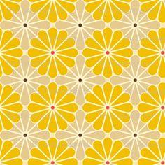 New wallpaper yellow pattern textile design Ideas 60s Patterns, Pretty Patterns, Textile Patterns, Textile Design, Geometric Patterns, Fabric Design, Modern Patterns, Yellow Pattern, Retro Pattern