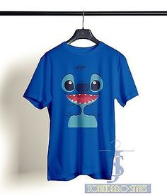 STITCH LILO AND STITCH ANIME DEVIL KOALA EXPERIMENT 626 TEE T SHIRT T.S 3D NEW