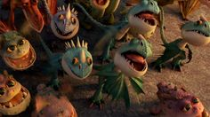gift of the night fury | Tumblr So cute!I love the baby dragons especially the Baby Gronkles and Deadly Nadders!!!! :D