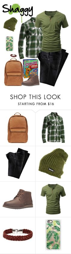 """""""Norville """"Shaggy"""" Rogers pt.5"""" by krhymell ❤ liked on Polyvore featuring Wilsons Leather, Icebreaker, Bench, Sperry, Doublju, Aubaine, Casetify, men's fashion and menswear"""