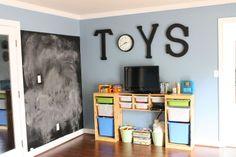 An Inspired Ikea Playroom