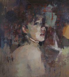 "Artist Yuriy Ibragimov; Painting, ""Humble"""
