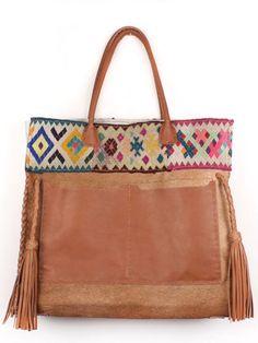 Boho Bags, Handmade Handbags, Handmade Bags, Brown Leather Handbags,  Shopper, Hippy Chic, Cute Bags, Estilo Boho, Handbag Accessories e3619f0475