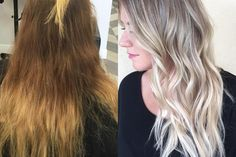 TRANSFORMATION: Faded To Light Ash Rooty Blonde | Modern Salon