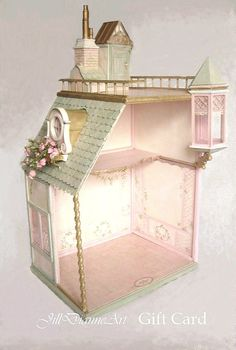shabby chic dollhouse!