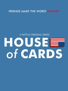 House of Cards (2013–) ~ Minimal TV Series Poster by Liam Graham #amusementphile