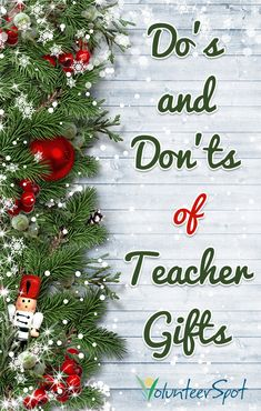 dos and donts of teacher gifts teacher appreciation gifts gift for teacher holiday ideas