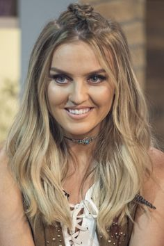 Mid-Length Hairstyles: Perrie Edwards, 2015