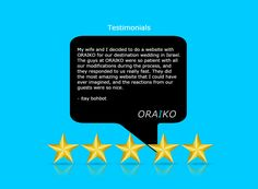 Thank you for taking the time to share your experience here with us at, ORAIKO. We look forward to reading your reviews. #WebDesign #WebDevelopment #InternetMarketing #SoftwareDevelopment #NYC #NewYorkCity #Design #Development #Coding #SocialMedia #SEO #PPC #eCommerce #ResponsiveWeb #MobileApplication #ContentManagementSystems
