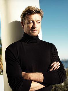 "Simon Baker for ""Gentlemen Only Intense"" by Givenchy."