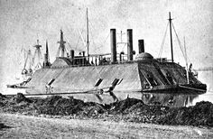 A March, 1863 photo of the USS Essex. The 1000-ton ironclad river gunboat Photographs of the Civil War Providing a Glimpse of a United States 150 Years Ago